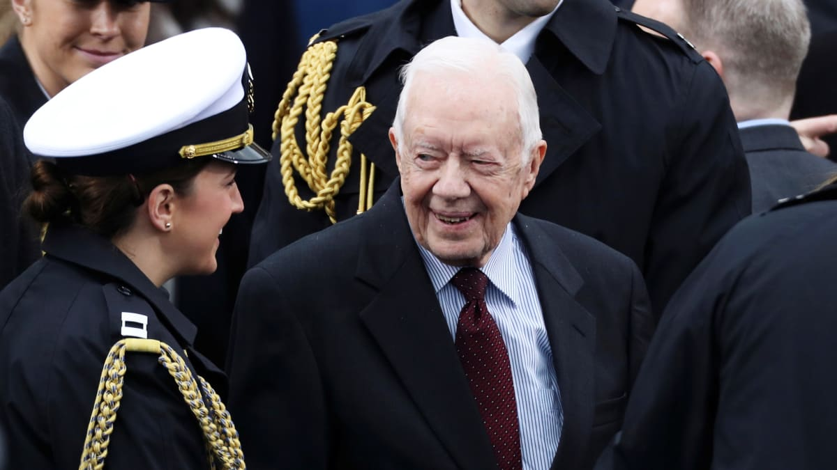 Jimmy Carter Hospitalized With Hip Fracture After Second Fall at Home This Month