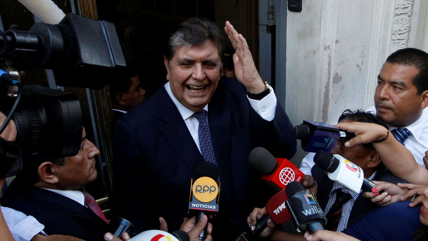 Peru's Ex-President 'Shoots Himself in Neck' While Being Arrested on Corruption Allegations