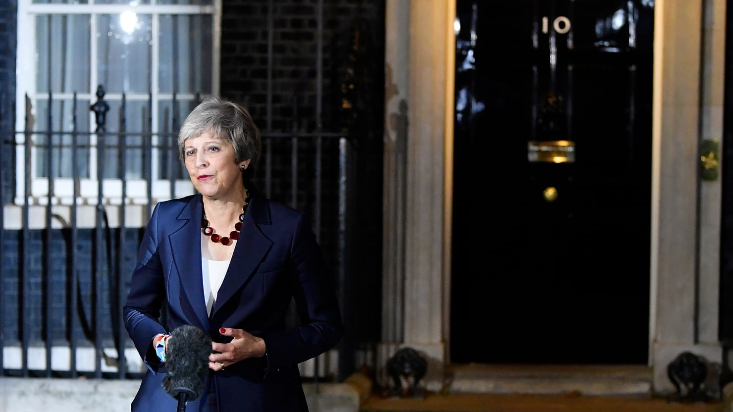 Theresa May's Government in Death Spiral Over Brexit Deal After Key Resignations