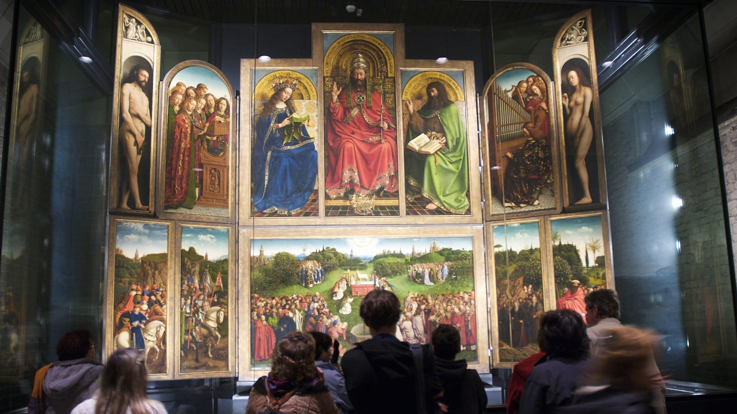 Why Hitler and Hermann Göring Went To War Over The Ghent Altarpiece