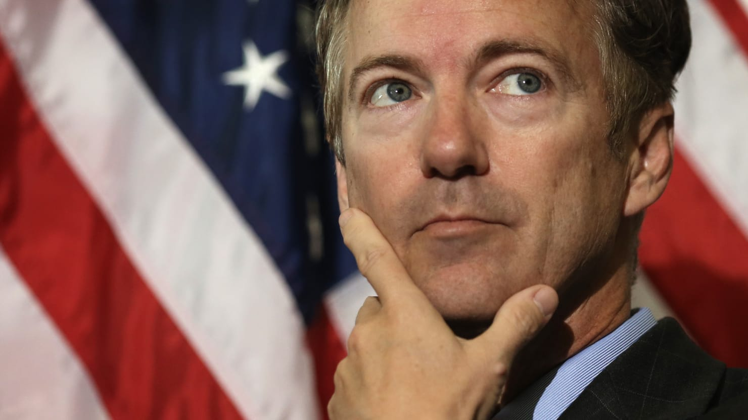 Rand Paul: Seniors Should Be Served Meals by COVID-Survivors