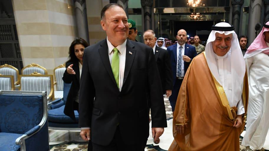 Pompeo Calls Saudi Oil Attack An 'Act of War'