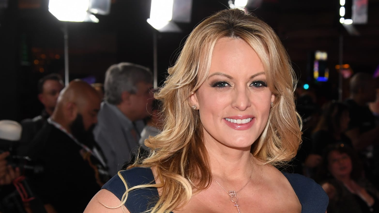Stormy Daniels Mocks Trump Sex in First Stand-Up Comedy Appearance in Houston