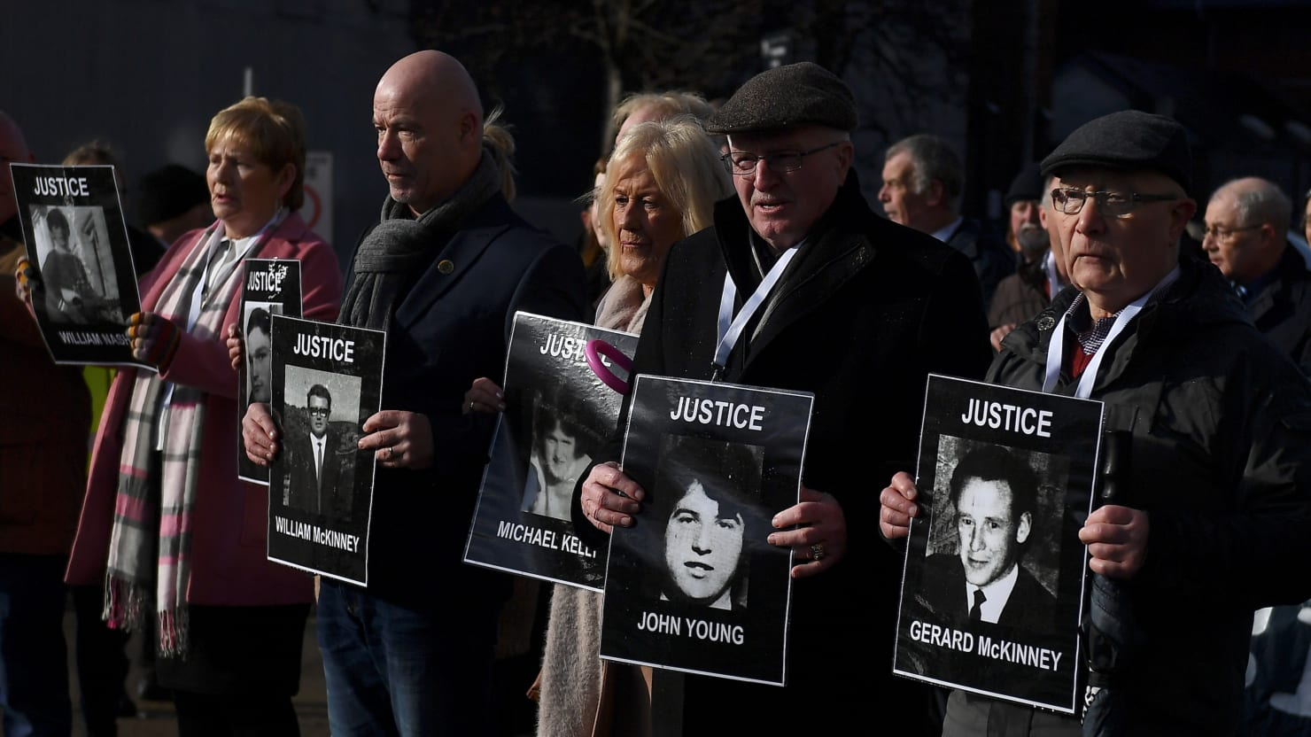 No More British Troops Will Face Justice for the 1972 Bloody Sunday Massacre
