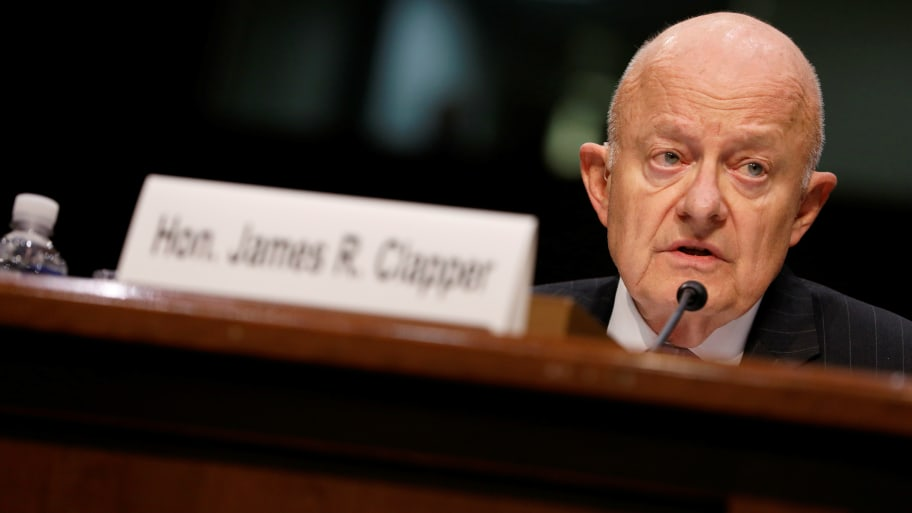 "National Intelligence, James Clapper, said he now questions President Trump's fitness for the executive office following a rally in Phoenix that Clapper called ""downright scary and disturbing."""