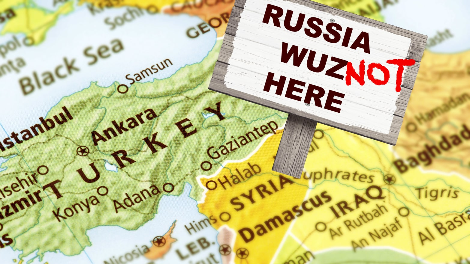 Kremlin Falls for Its Own Fake Satellite Imagery