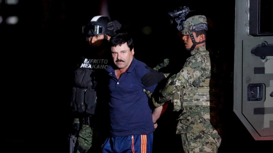 El Chapo Compares His Prison Conditions to 'Torture' at Sentencing