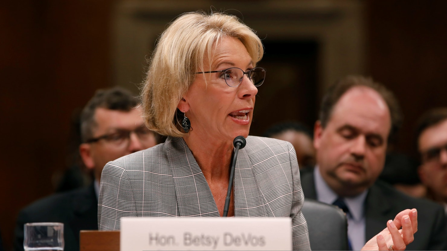 Betsy Devos Deputy Privately Admitted >> 18 States And D C Sue Devos Over Delayed Student Loan Protections