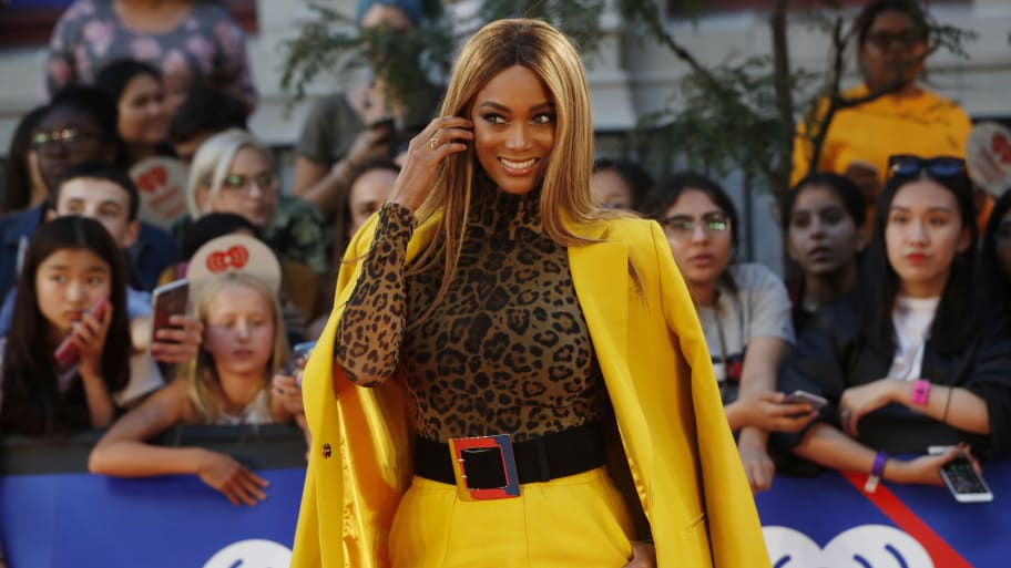 Tyra Banks on Sports Illustrated Swimsuit Issue Cover 23 Years After Debut