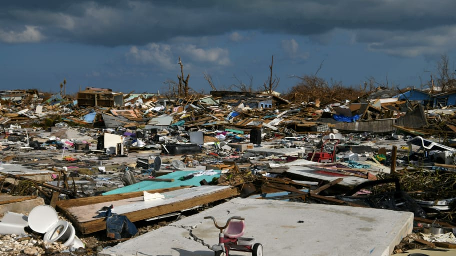 Authorities in Bahamas Using Smell to Find Dead Two Weeks After Hurricane Dorian