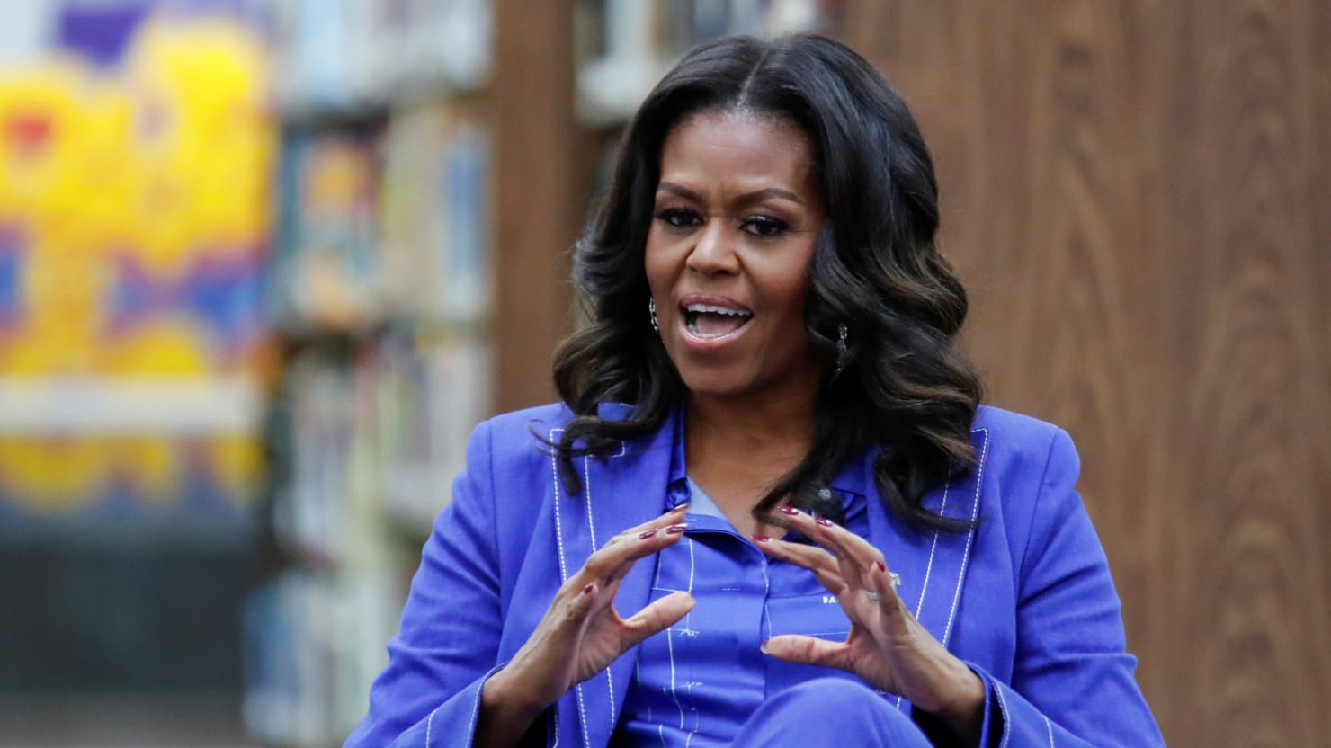 michelle obama ends hillary clinton s 17 year run as america s most