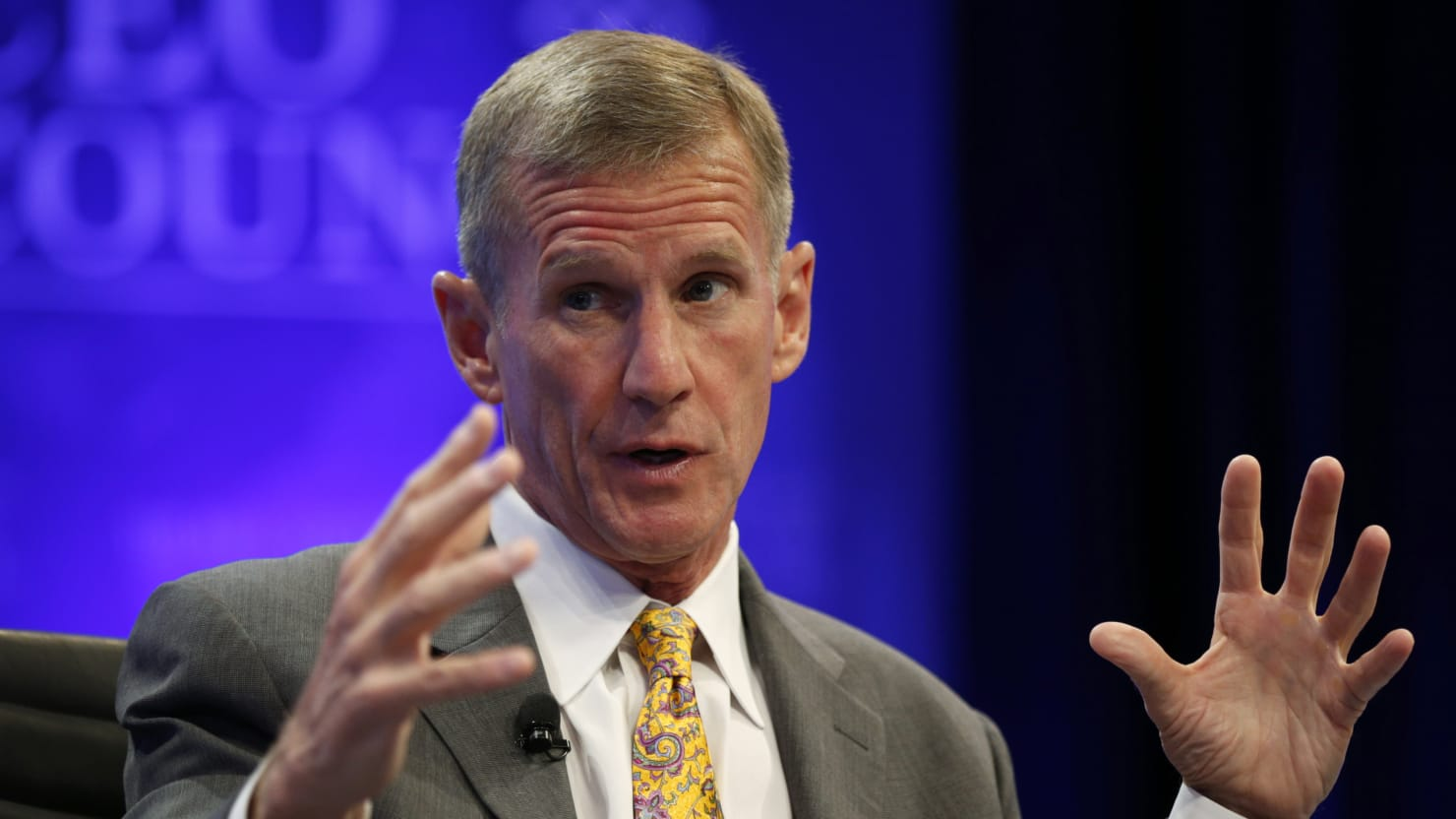 Gen, Stanley McChrystal would not work for Trump