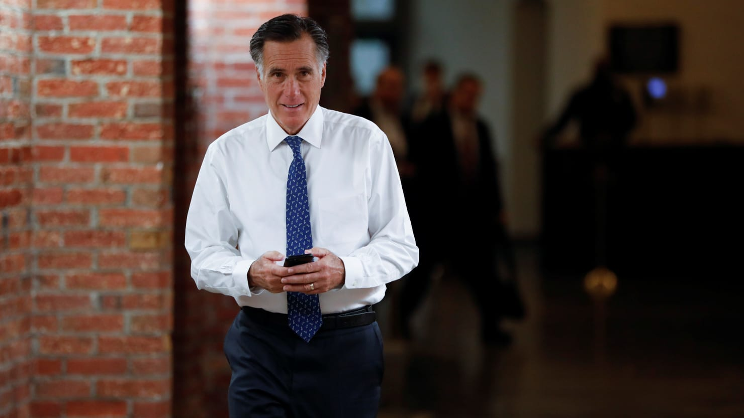 Romney: I Am 'Sickened' by 'Dishonesty' of Trump Outlined in Mueller Report