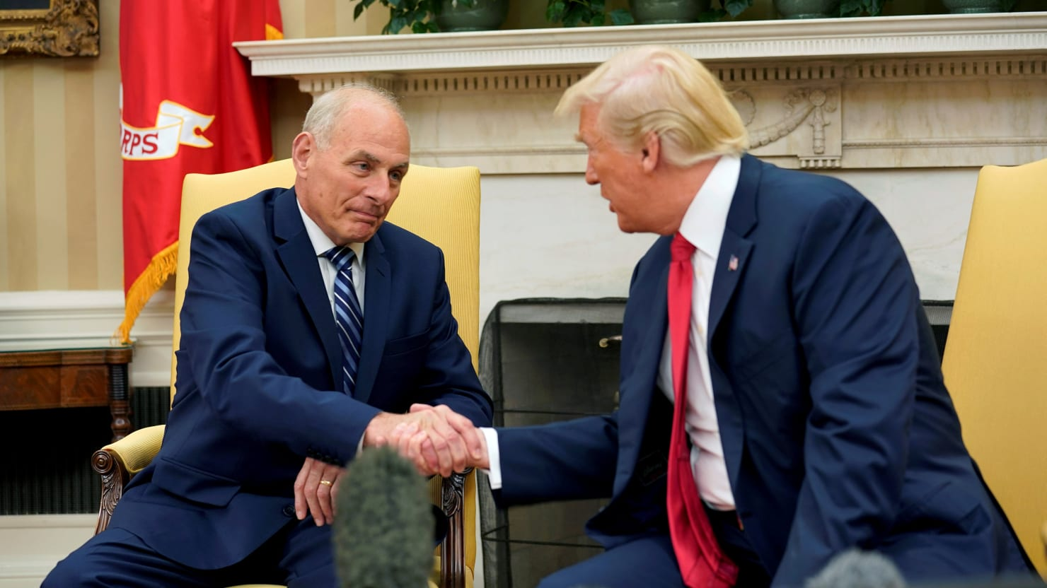 Trump Critics Join Trump in Dunking on Former White House Chief of Staff John Kelly