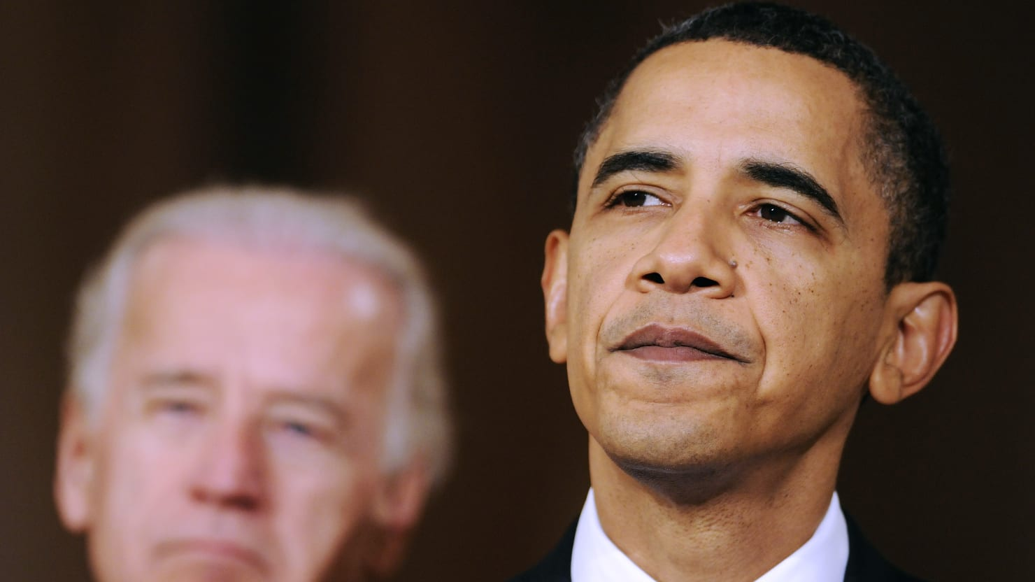 It's Time for Obama to Man Up and Back Biden