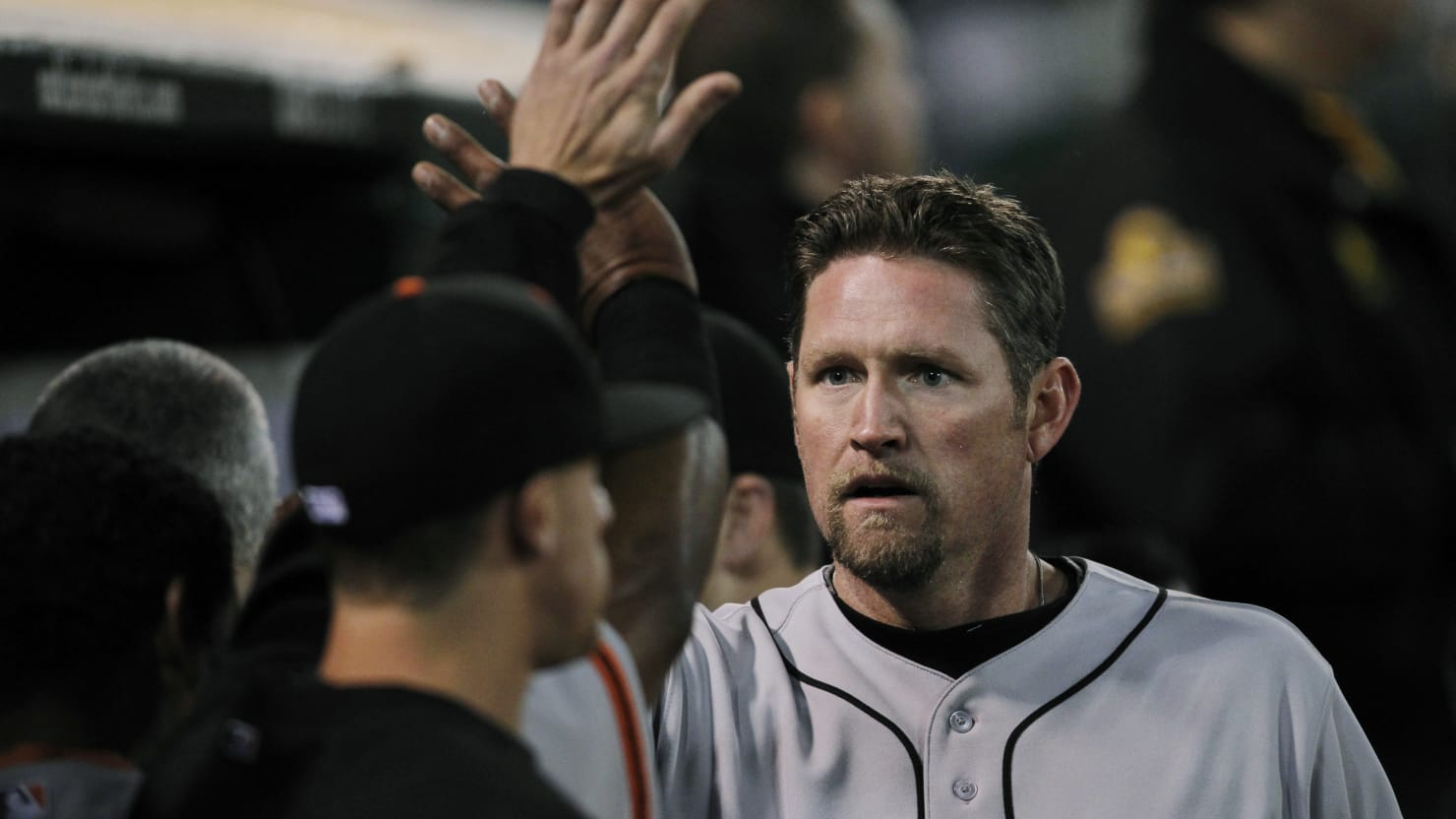 Aubrey Huff Not Invited to San Francisco Giants World Series Reunion Because of 'Unacceptable' Tweets