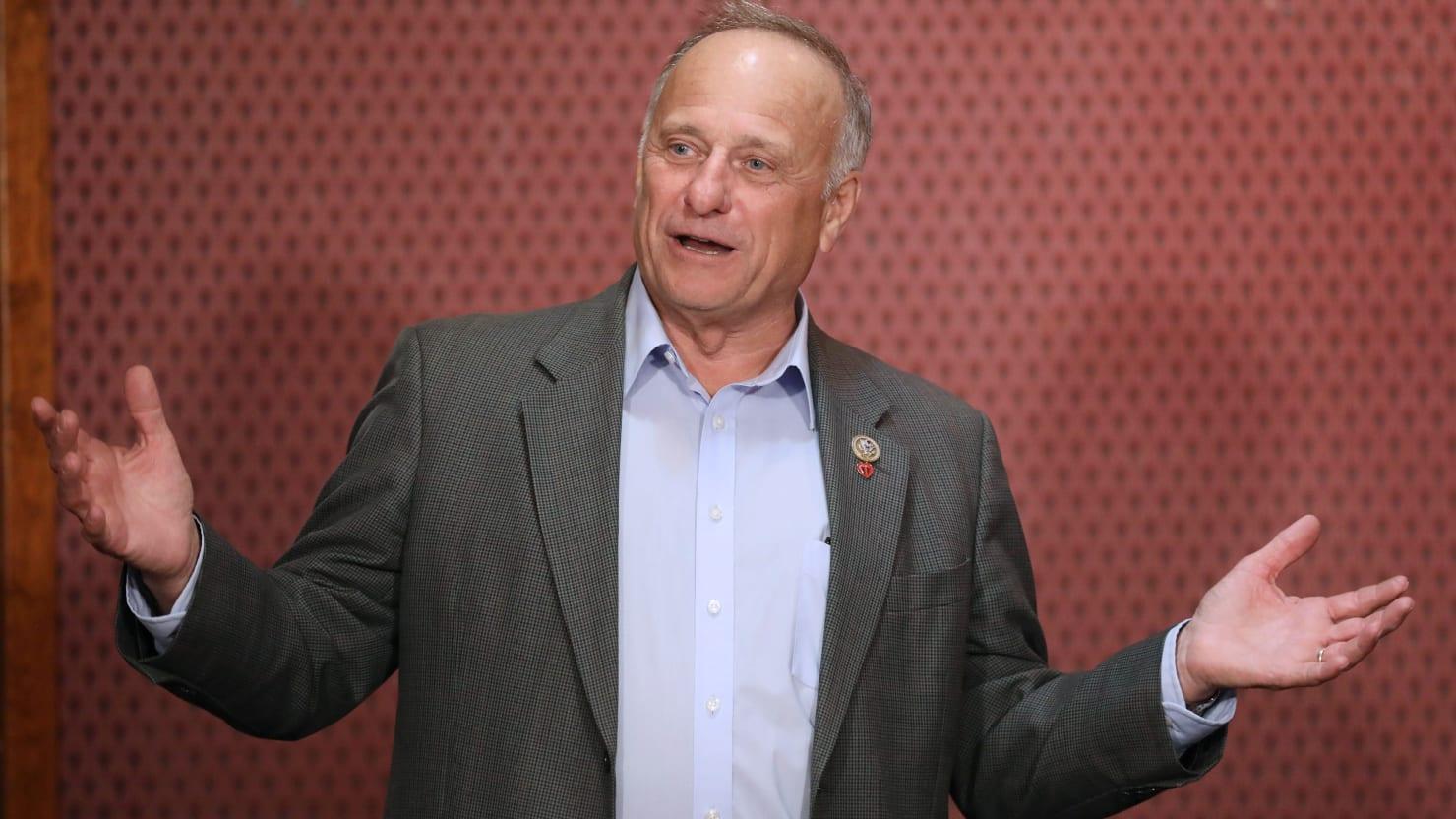 Rep. Steve King Slams GOP for Not Discriminating Against Gay Candidates