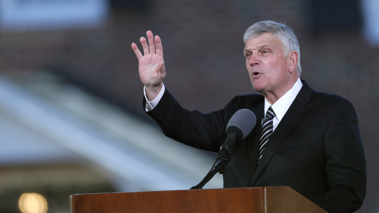 Franklin Graham Calls for Pete Buttigieg to Repent for Being Gay