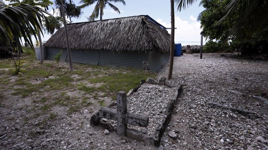 Tarawa: Dozens of U.S. War Graves Found on WW2 Pacific Battlefield