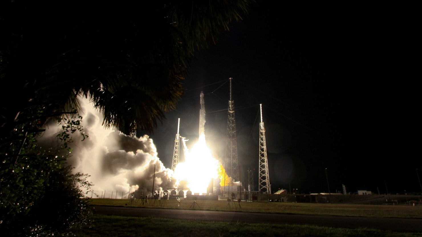 SpaceX Launches Dozens Of Internet Satellites Into Orbit