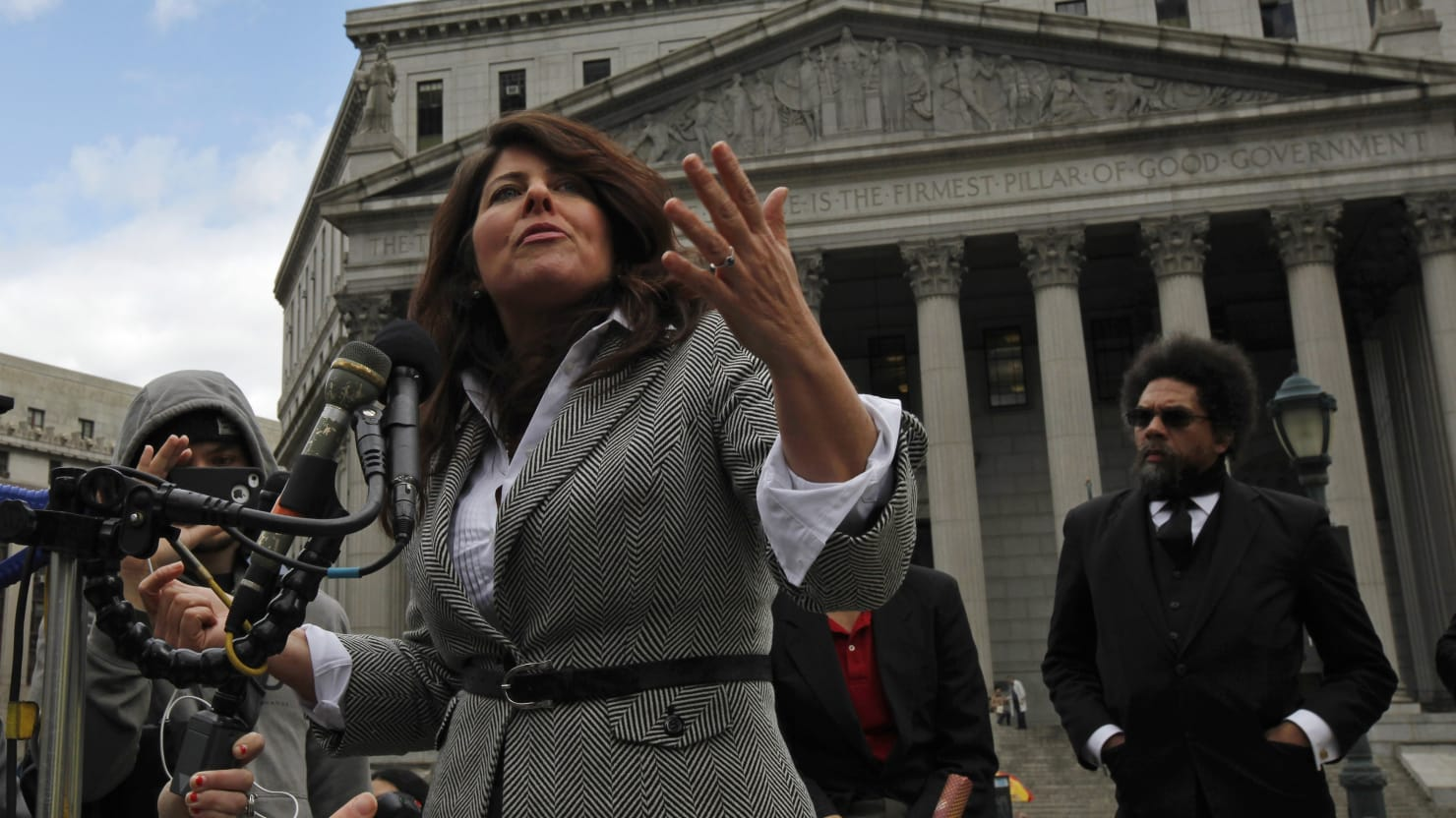 Naomi Wolf Realizes There's A Massive Mistake In Her Book Live On Radio
