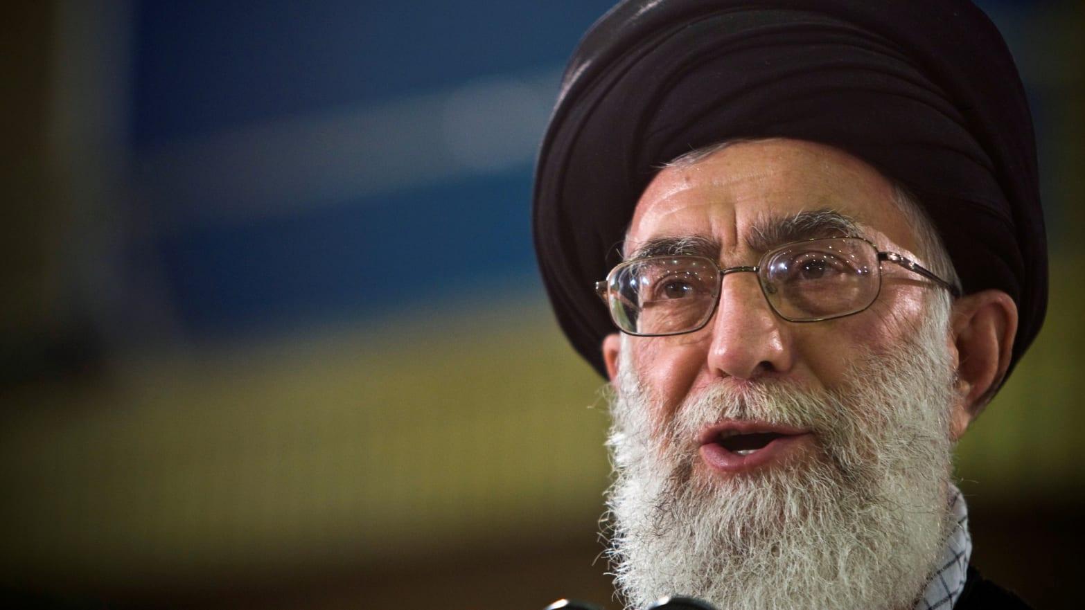 U.S. Sanctions Ayatollah Ali Khamenei, Supreme Leader of Iran