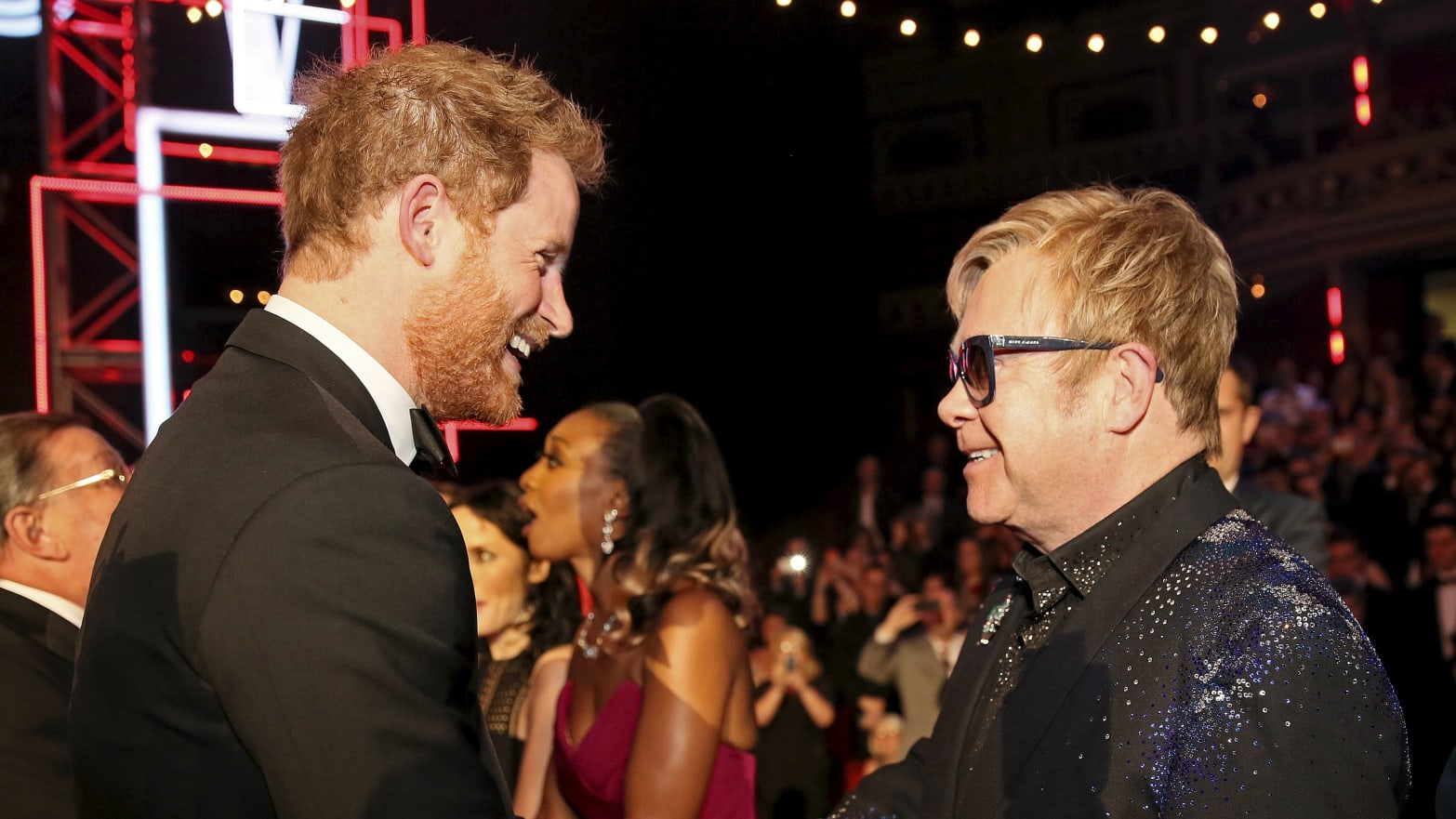 Elton John Defends Prince Harry and Meghan Markle's Private Jet Trip to His French Villa