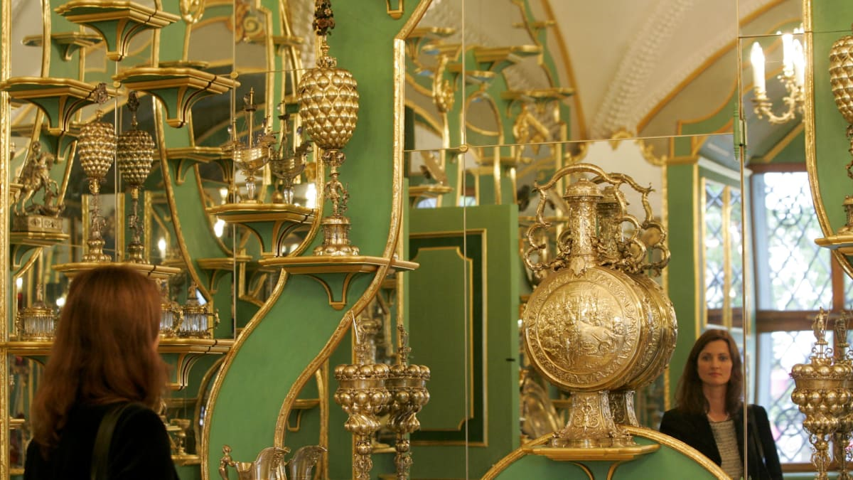 Dresden Green Vault Plundered by Thieves Was Treasure Hoard All Princes Envied