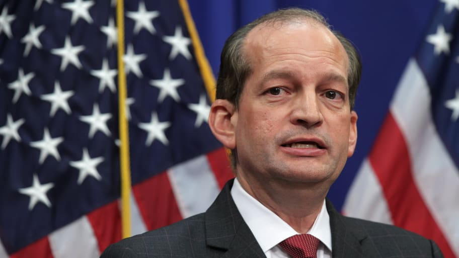 Ex-Palm Beach State Attorney Says It Was Acosta's 'Secret Negotiations' With Epstein Lawyers That Tanked Case