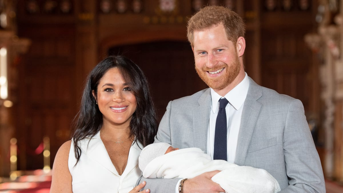 Royal Baby First Pictures: Meet Archie Harrison Mountbatten-Windsor
