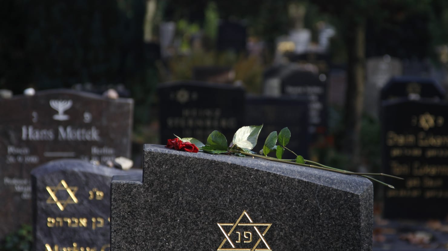 Graves Vandalized With Hitler and MAGA Messages at Jewish Cemetery in Massachusetts