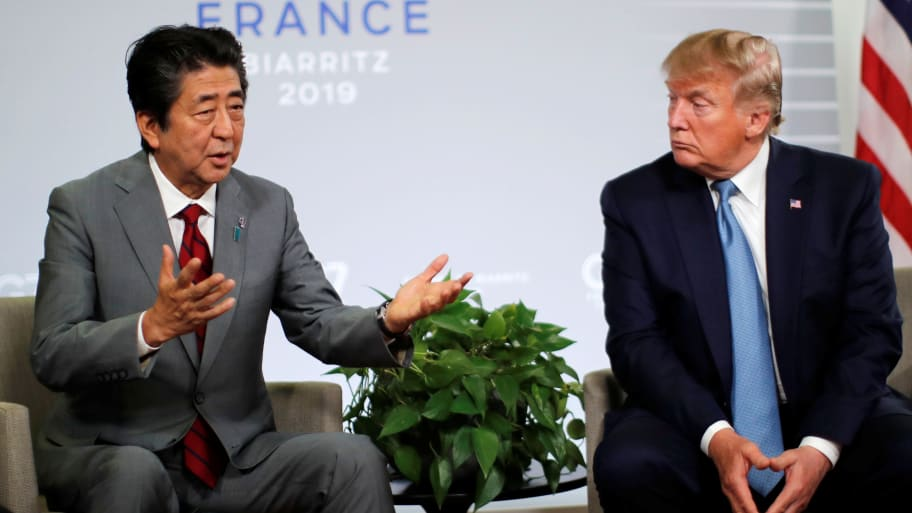 Trump and Japan Tease Major Trade Deal That Could Ease Tariffs