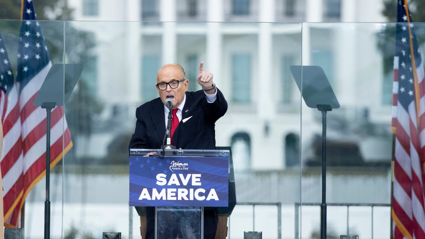 Giuliani Admits an Associate Asked the Trump Campaign to Pay Him $20,000 a Day