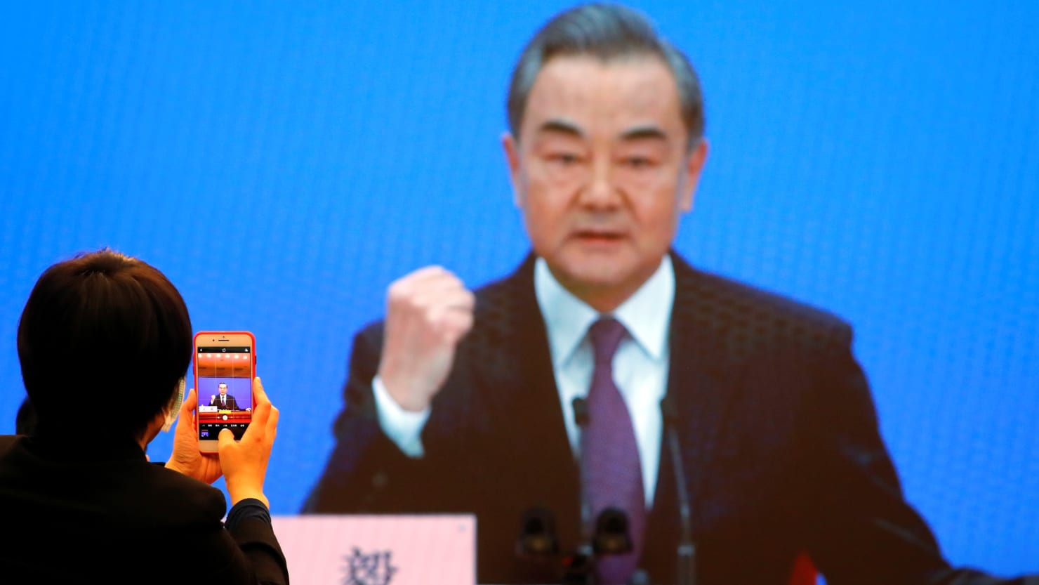 Chinese Foreign Minister to United States: Butt Out