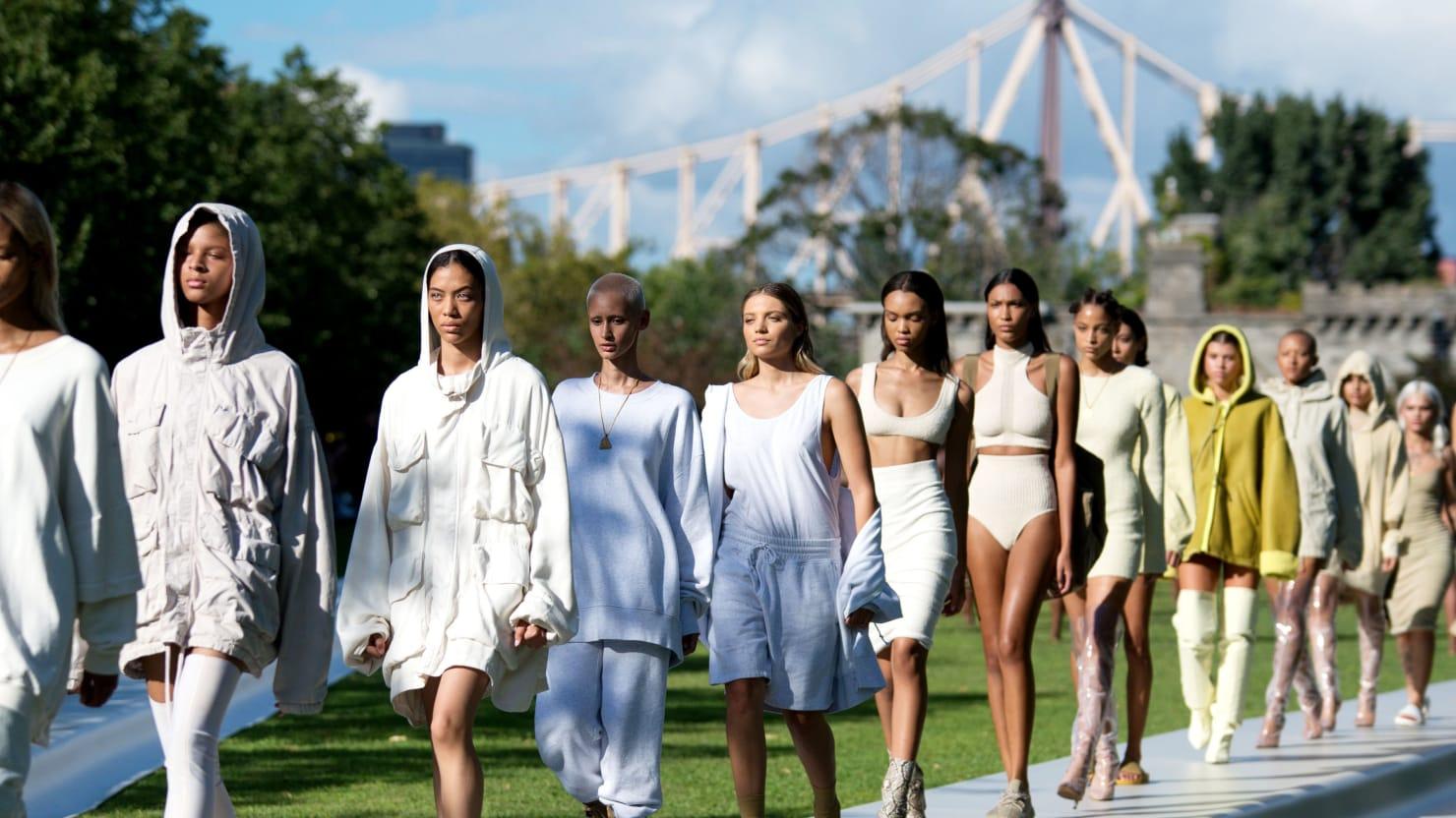 Inside Kanye West's Epic Hot Mess at New York Fashion Week