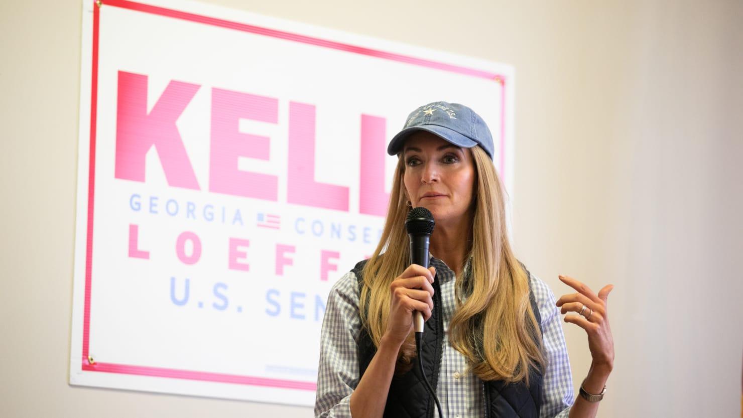 Sen. Kelly Loeffler's Campaign Says She Had 'No Idea' She Posed With Neo-Nazi