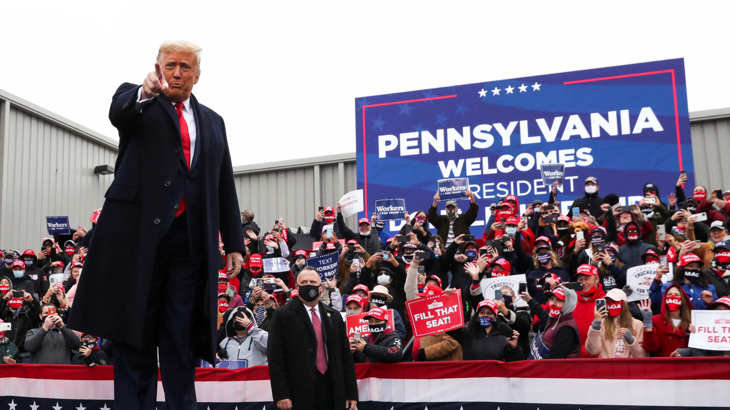 Trump Threatens Pennsylvania Gov. Tom Wolf: I'll Withhold Federal Aid Because You Didn't Help My Campaign