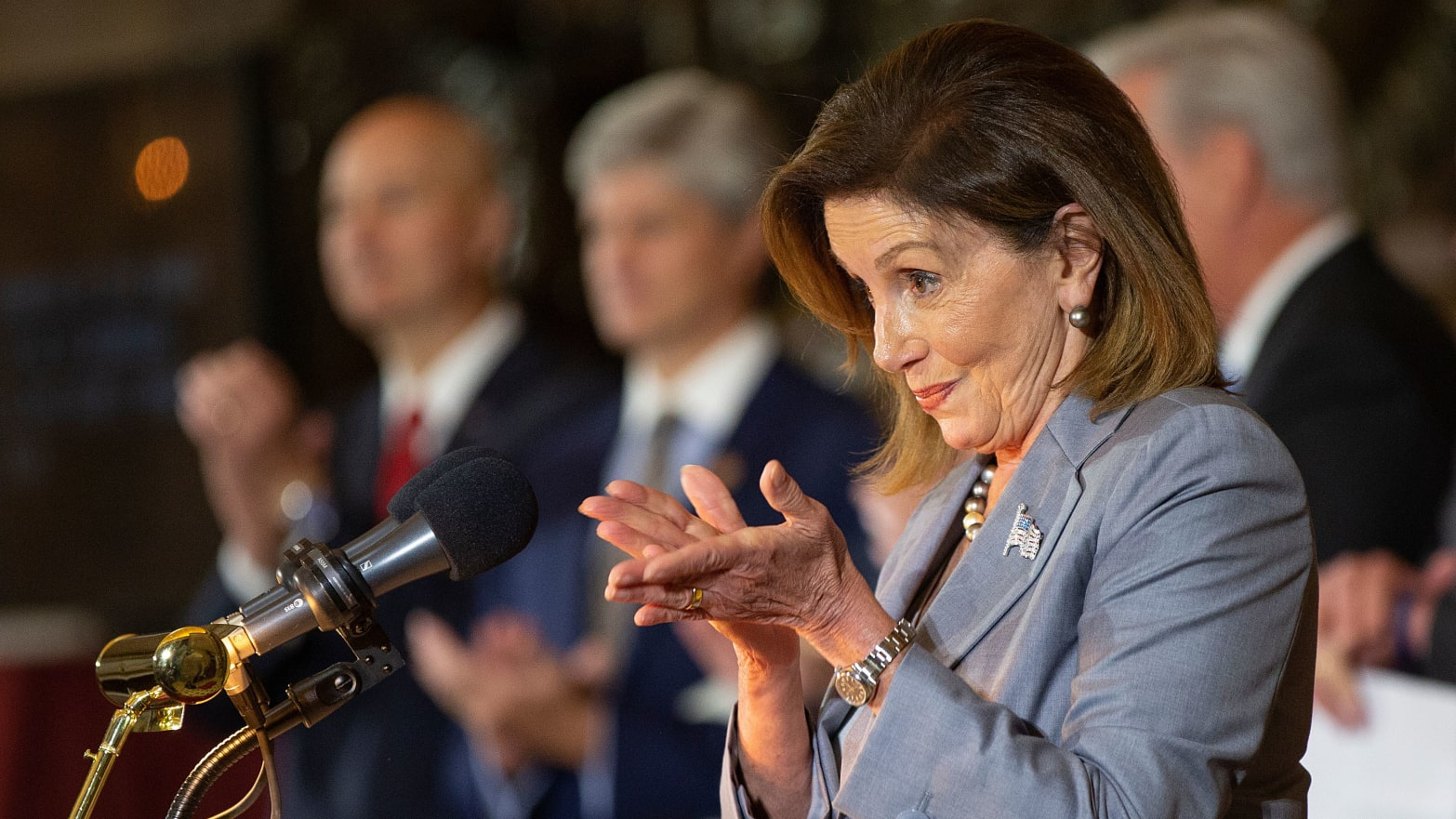 Nancy Pelosi Not Budging on Impeachment and Her Colleagues Are Privately Screaming