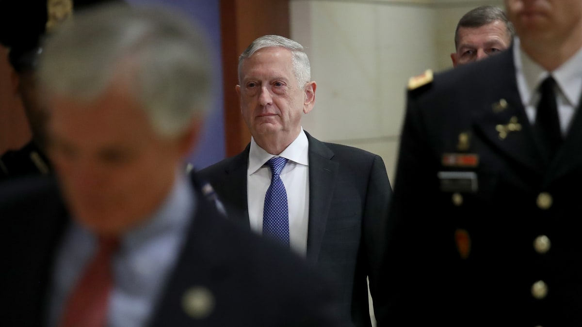 General Jim Mattis: I'm 'Honored' Trump Considers Me Overrated