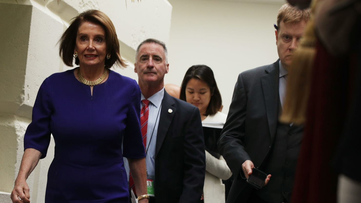 Nancy Pelosi: We Believe Trump 'Is Engaged in a Cover-Up'
