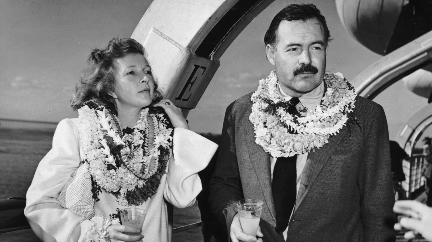 Ernest Hemingway Whiskey Glass