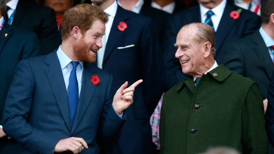 Princes Harry and William will reunite to walk behind their grandfather Prince Philip's casket, just as they did for their mother Princess Diana; Meghan will not attend