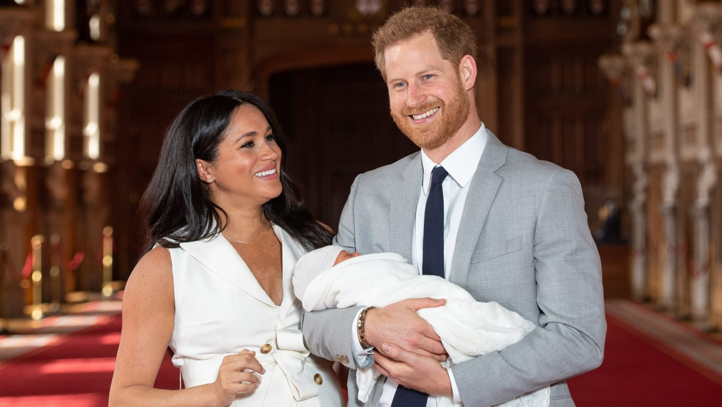 Buckingham Palace Says Meghan Markle's Office Changed Her Name on Archie's Birth Certificate