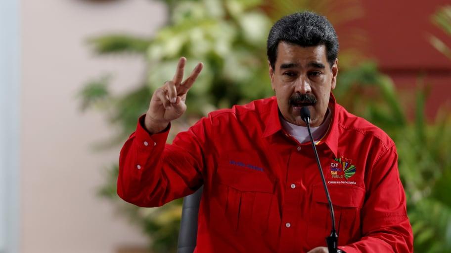 Venezuelan Leader Nicolas Maduro Confirms Secret Talks With U.S. to Negotiate His Exit