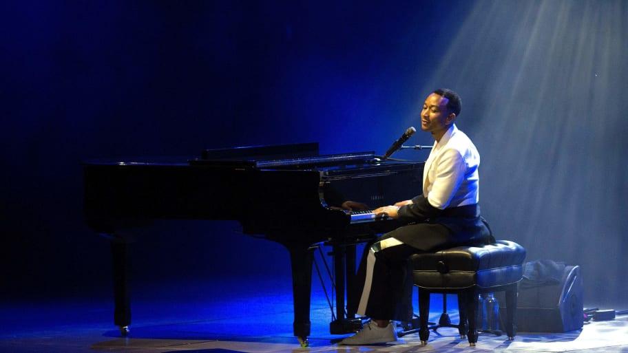 John Legend Holds Surprise Concert for Survivors of Dayton Shooting