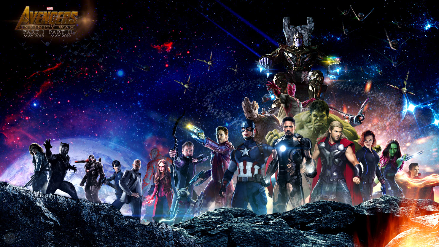 avengers: infinity war': watch the leaked trailer that won comic-con