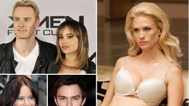 X Men First Class January Jones Zoe Kravitz And Sexploits From The Set
