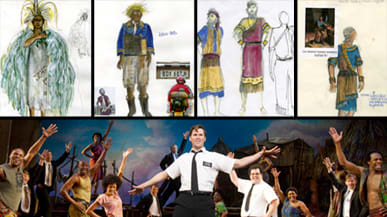 book of mormon costumes from the broadway musical
