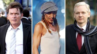 Charlie Sheen John Galliano Julian Assange Anti Semitic Celebrity