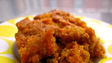 Carrot Cake Without Eggs Recipe